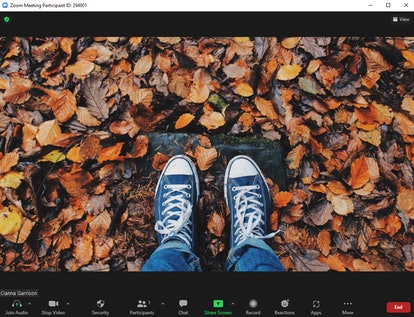 These fall Zoom backgrounds include so many autumn scenes.