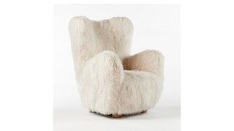Bozzi Mongolian Sheepskin Chair