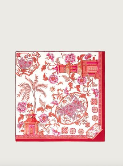China Print Silk Scarf