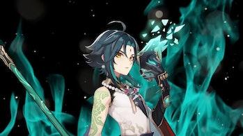 Xiao Genshin Impact Version 1.3 Banner