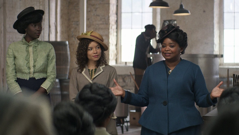 'Self Made: Inspired by the Life of Madam C. J. Walker' is a Netflix miniseries perfect for a Black History Month watch.