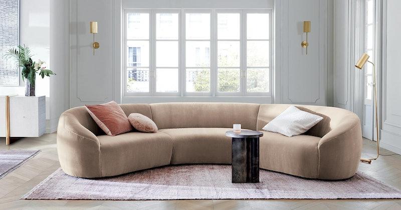 sofa CB2 Ross Cassidy