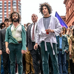 Sacha Baron Cohen in The Trial Of The Chicago 7 on Netflix.