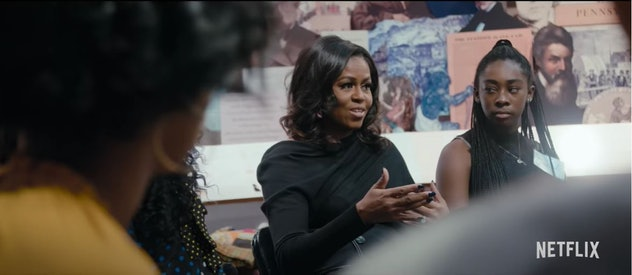 'Becoming' documentary follows Mrs. Obama's 2019 book tour.