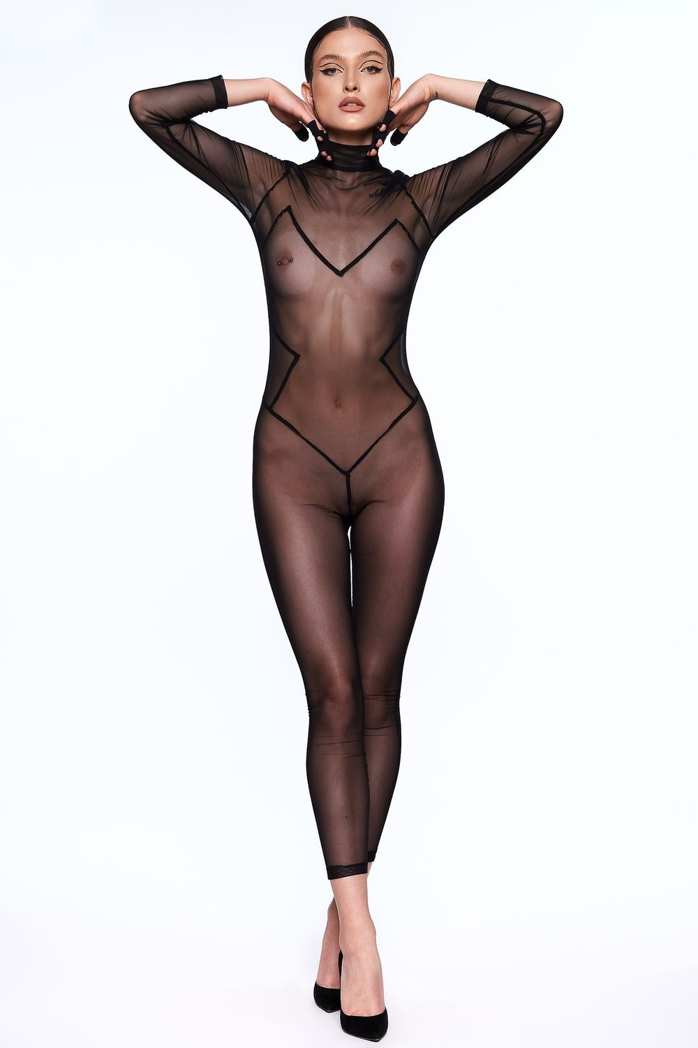 LUDIQUE Infinity Sheer Catsuit