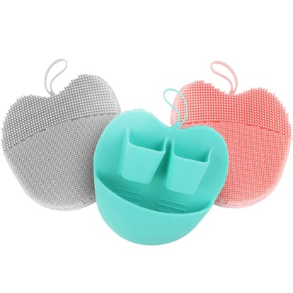 INNERNEED Silicone Facial Cleaning Brushes (3-Pack)