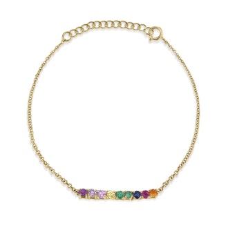 Rainbow Mini Tennis Bracelet