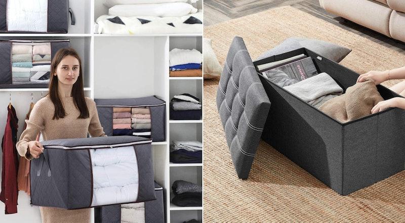 Best Ways To Store Blankets