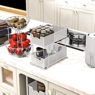 Simple Houseware Sliding Basket Organizer