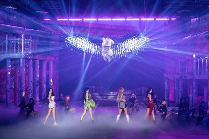 BLACKPINK made a triumphant return to the stage on Sunday with their virtual livestream concert, The...