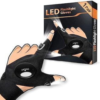 HANPURE LED Flashlight Gloves