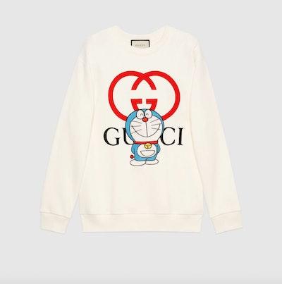 Doraemon x Gucci Cotton Sweatshirt