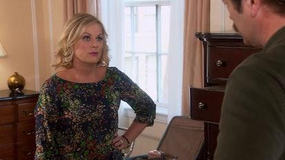 Leslie is stressed when Pawnee demand a recall vote.