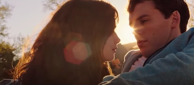 Lilly Colins stars in the 2014 film, 'Love Rosie.'