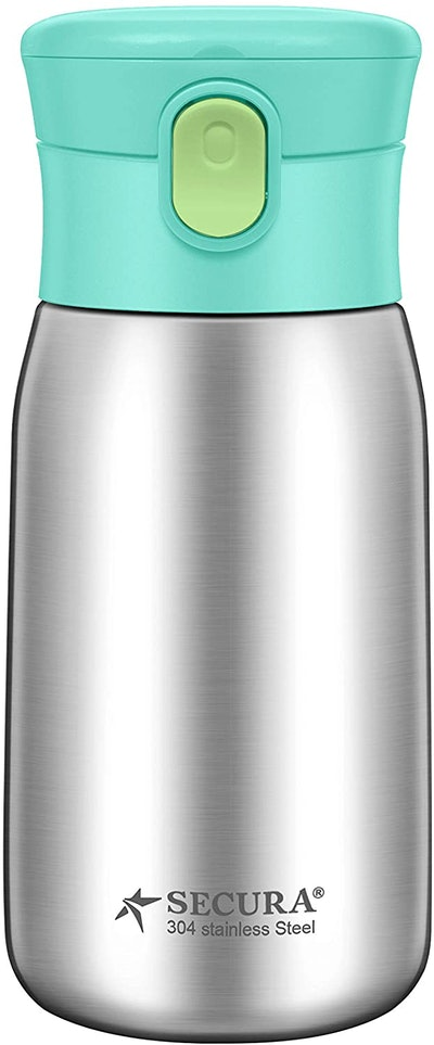 Secura Vacuum Insulated Stainless Steel Straw Water Bottle (12 Oz.)