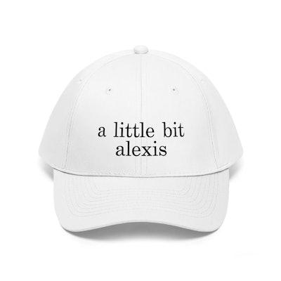 NutriTeesCreations A Little Bit Alexis Hat
