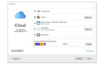 iCloud Passwords Google Chrome Web Store screenshot