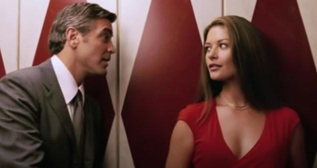 George Clooney and Catherine Zeta-Jones star in the 2003 film, 'Intolerable Cruelty.'