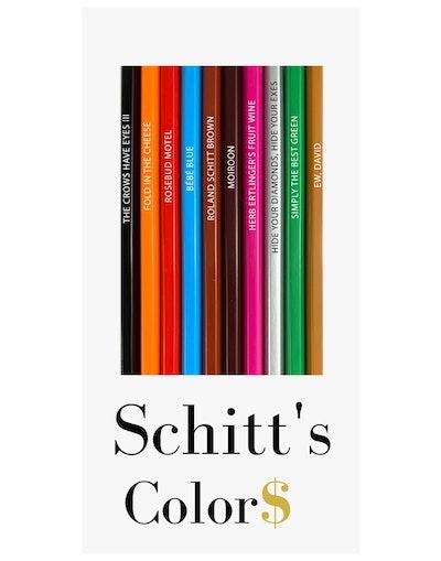 Schitt's Colors