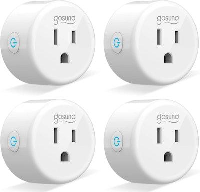 Gosund Smart Wi-Fi Plugs (4-Pack)