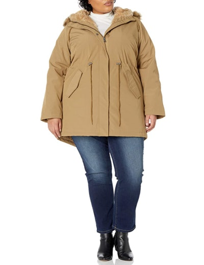 Levi's Faux-Fur-Lined Hooded Parka