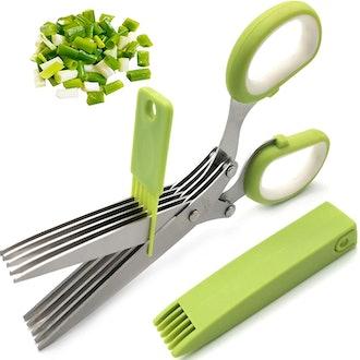 SASACIA Herb Scissors and Stripper Set