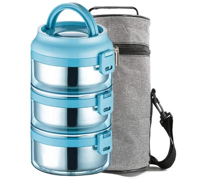 Lille Home Stainless Steel Stackable Compartment