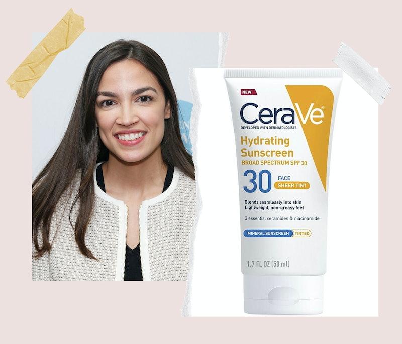 Alexandria Ocasio-Cortez is a fan of drugstore skin care brand CeraVe.