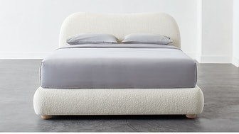 Diana White Bed