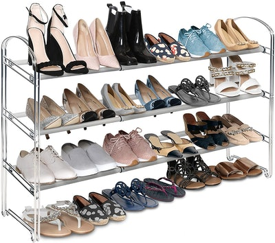 Seville Classics Expandable Shoe Rack