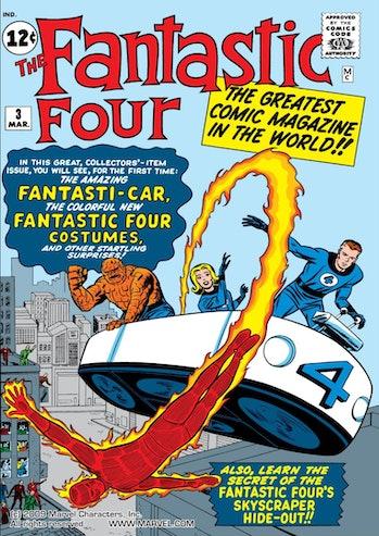 Fantastic Four Marvel Cinematic Universe