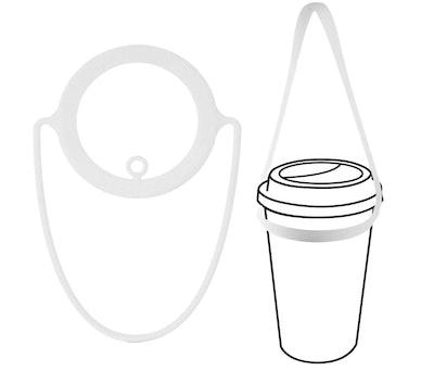 Bone Portable Cup Carrier