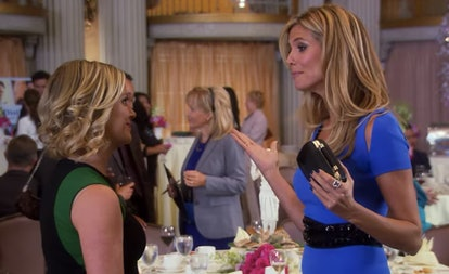 Heidi Klum makes a cameo in 'Parks & Rec' during the gang's trip to London.