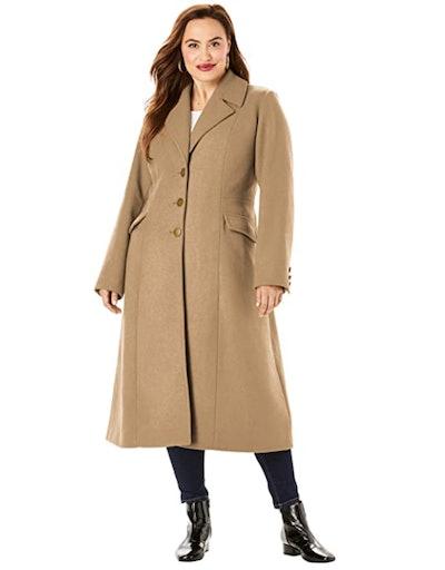 Roaman's Wool-Blend Coat