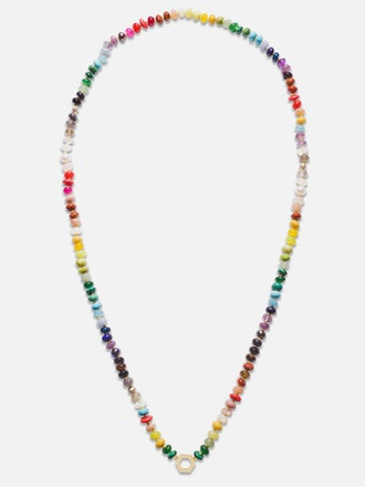 Rainbow Bead Foundation Necklace