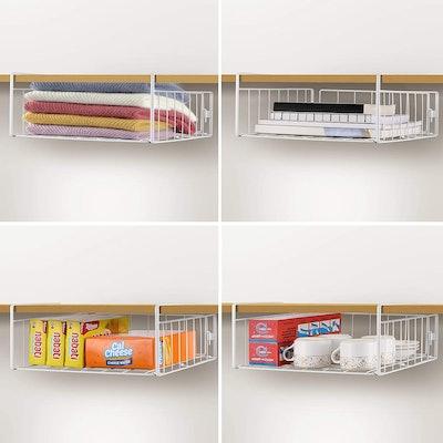 Simple Trending Under Cabinet Organizer Shelf (2-Pack)