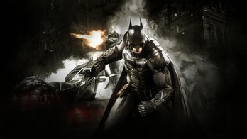 Batman Arkham Knight Batmobile Cover Art