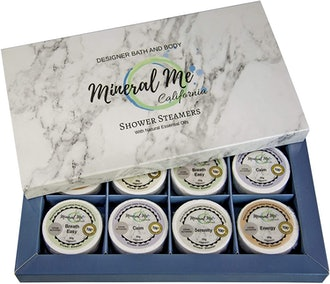 Mineral Me Aromatherapy Shower Steamers (Set of 8)