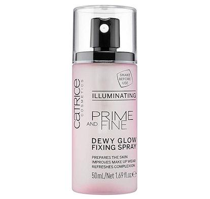 Catrice Prime & Fine Illuminating Dewy Glow Fixing Spray