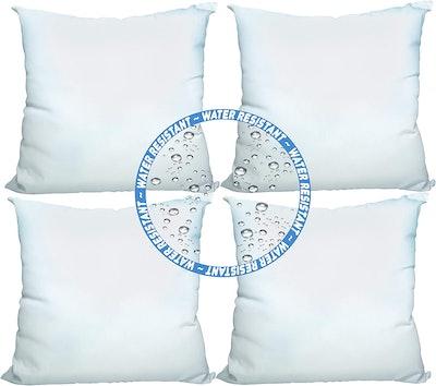 Foamily Premium Outdoor Pillow Insert (Set of 4)