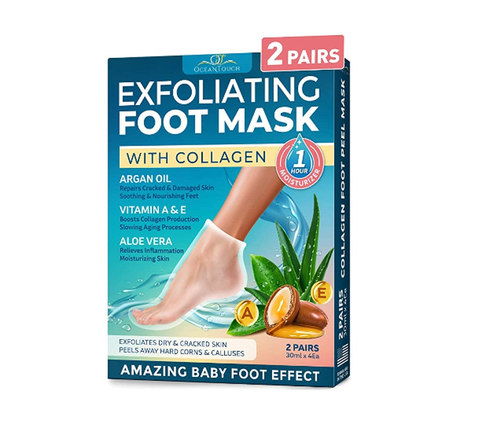 OceanTouch Foot Peel Mask (2-Pack)