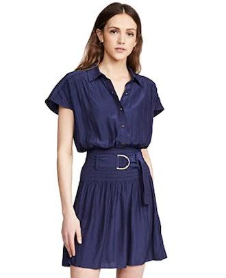 Ramy Brook Stacy Shirt Dress with Belt