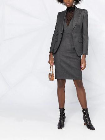 Blazer And Dress Suit