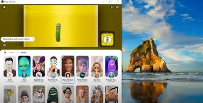 Snap Camera allows you to choose many filters for your next Zoom call.