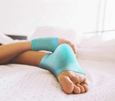 NatraCure Vented Moisturizing Gel Heel Sleeves