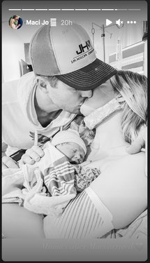Alyssa Bates and husband, John Webster, welcomed their fourth child together.