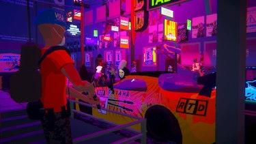 A screenshot of 'Umurangi Generation'