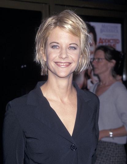 Meg Ryan at a film premiere.
