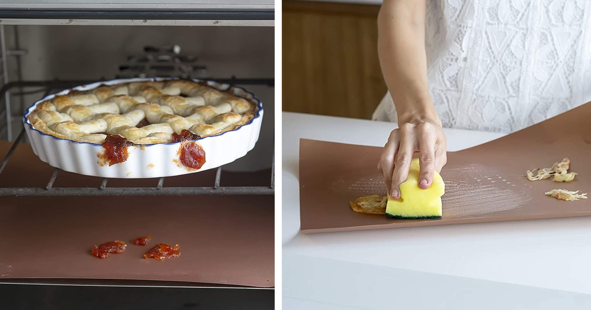 These Liners Catch Food From Falling To The Bottom Of Your Oven — & Yes, You Need One
