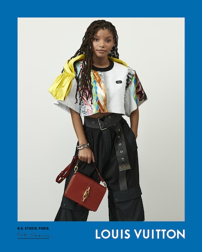 Halle Bailey stars in Louis Vuitton's spring/summer 2021 campaign.